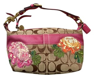 Coach Vintage Floral Shoulder Bag
