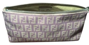 Fendi Fendi Purple Zucca Cosmetic Bag