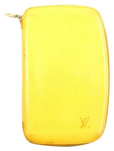 Louis Vuitton Yellow Epi Leather Geode Zippy Organizer Wallet France