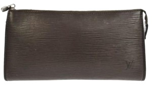 Louis Vuitton Pochette Purse Brown Clutch