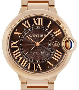 Cartier Cartier Ballon Bleu 18k Rose Gold Chocolate Dial Watch