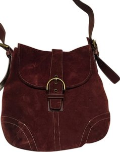 Coach Suede Vintage Shoulder Bag