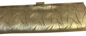 Jessica McClintock Gold Clutch