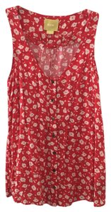 Maeve Anthropologie Top red