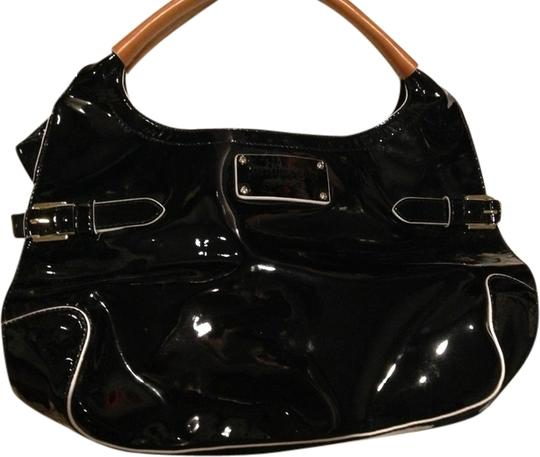 Kate Spade Dressy Patent Leather Satchel in Black