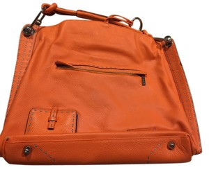 Bcbg Satchel in Burnt orange