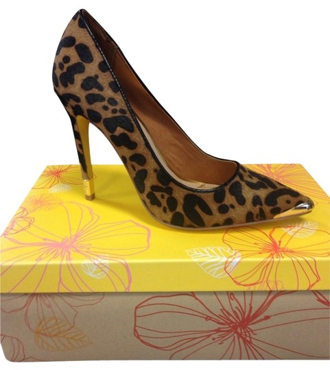 Preload https://item3.tradesy.com/images/yellow-box-cheetah-pumps-1843257-0-0.jpg?width=440&height=440
