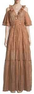 Terracotta Maxi Dress by Rachel Zoe Wedding Vacation Summer Open Danielle