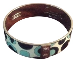 Coach Enamel Bangle Bracelet