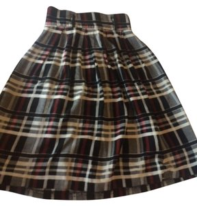 Other Vintage Schoolgirl Office Skirt Plaid