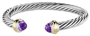David Yurman David Yurman 7mm Amethyst Cable Bracelet
