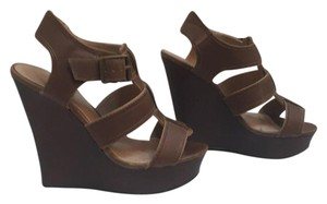 Candie's Brown Wedges