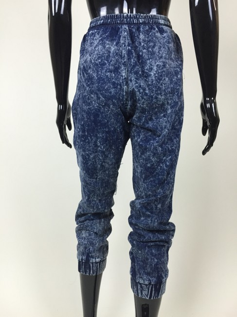 Other Denim Joggers Destroyed Ripped Pants Image 2