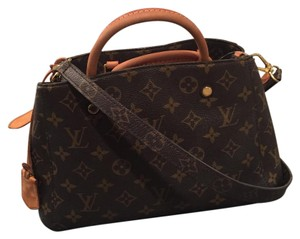 Louis Vuitton Satchel in Canvas