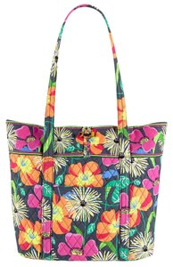 Vera Bradley Quilted Jazzy Blooms Tote in Multicolor
