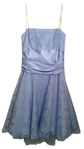 Masquerade Strapless Empire Waist Sparkle Lace Tulle Dress