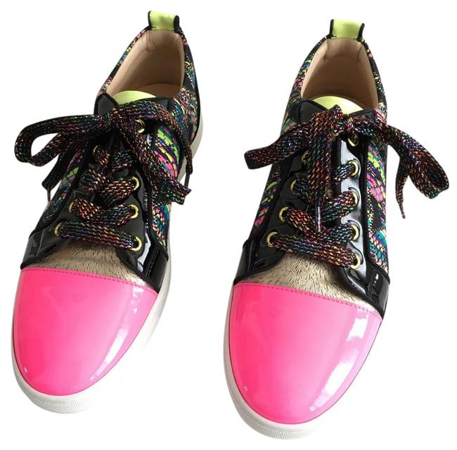 Item - Multicolor Gondoliere Woven Low-top Sneakers Size US 10 Regular (M, B)