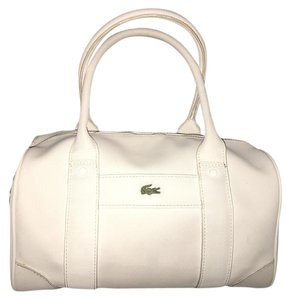 Lacoste Satchel in White