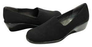 Aerosoles New Size 10.00 M Padded Footbed Excellent Condition Black Flats