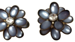 Other CABOCHON Vintage 50's 60's One of a Kind flower earrings