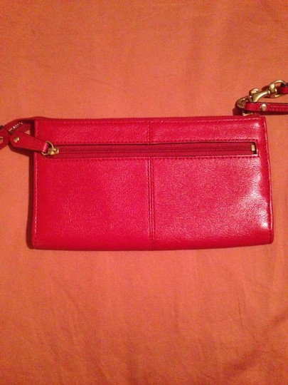 Coach Wristlet in Red Image 2
