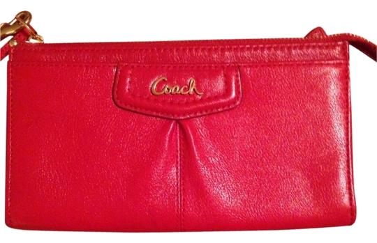 Preload https://item3.tradesy.com/images/coach-ashley-zippy-wallet-48124-red-leather-wristlet-1843812-0-0.jpg?width=440&height=440