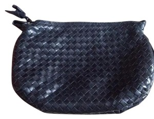 Bottega Veneta Cosmetic Travel Black Clutch