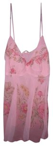 Forever 21 Fairy Floral Pixie Boho Top Pink