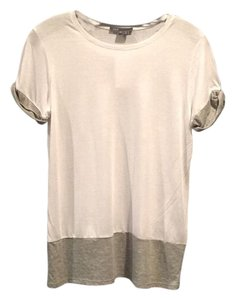 Vince T Shirt White grey