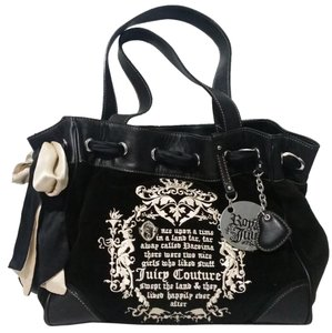 Juicy Couture Velour Tote Shoulder Bag