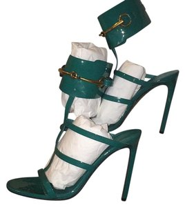 Gucci Green/Teal Pumps