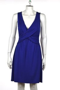 Lilla P Womens Blue Dress