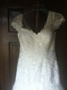 Ivory 5972 Wedding Dress Size 6 (S)