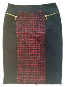 Michael Kors Skirt Black/red