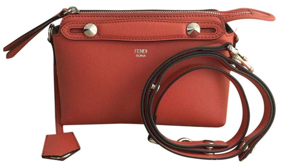 Mini Boston Leather Bag Poppy Way Body The By Cross Fendi gqxTwRtHg