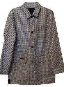 Ralph Lauren Raincoat Houndstooth New Reversible Coat