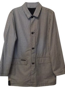 Ralph Lauren Raincoat Houndstooth New Coat