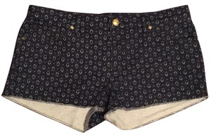 Juicy Couture Cut Off Shorts Blue
