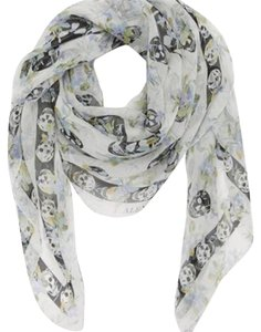Alexander McQueen Alexander McQueen 'Rampage' Silk Scarf New without Tags