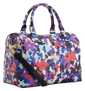 Tory Burch Satchel in Floral Multi Color