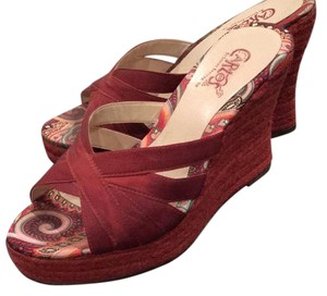 Carlos by Carlos Santana Red Wedges
