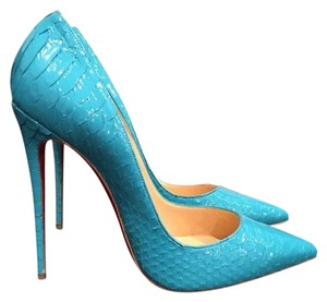 Christian Louboutin So Kate Sokate Stiletto blue Pumps