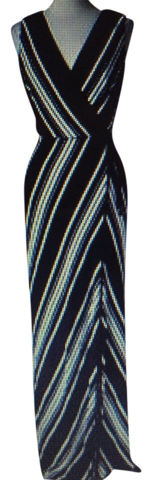 cd9630307 black and white Maxi Dress by White House | Black Market Image 0 ...