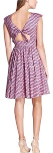 Tracy Reese short dress Purple, Pink on Tradesy