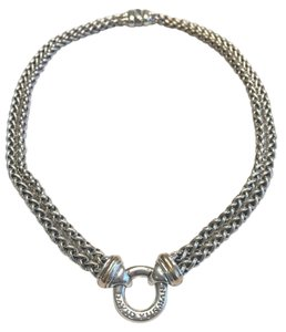 David Yurman David Yurman Sterling Silver & 18K 16