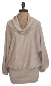 Style & Co Sparkle Neck Dolman Sweater
