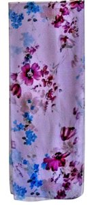 Other NEW lavender/purple/blue floral print polyester