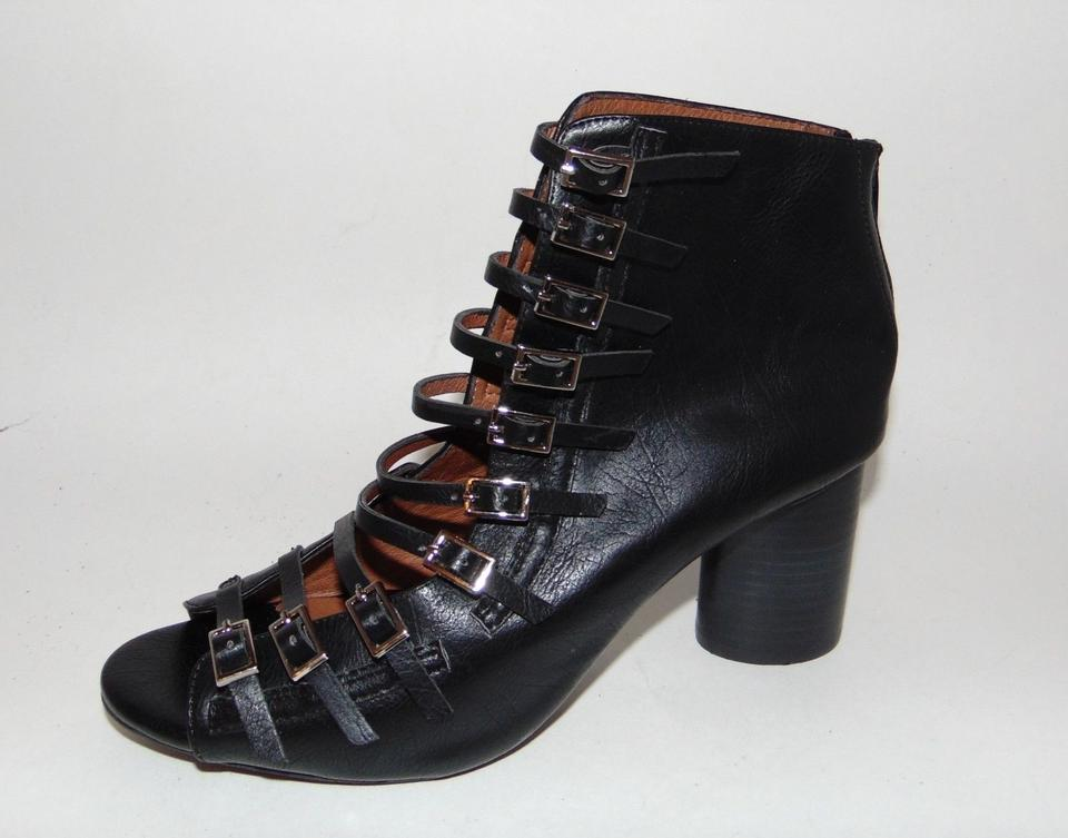Newjeffrey Campbell Houdini-2 Buckled Open Bootie Boot