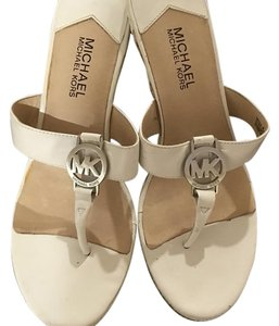 MICHAEL Michael Kors White and beige Wedges