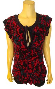 Marc by Marc Jacobs Top purple, black. red